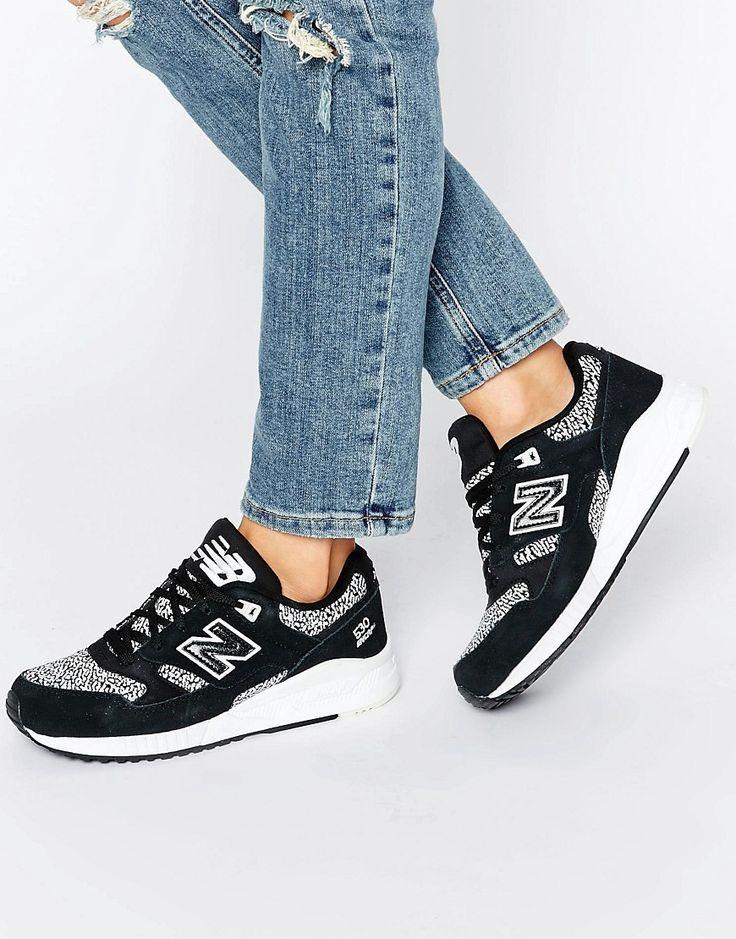 New Balance 530 Femme Noir