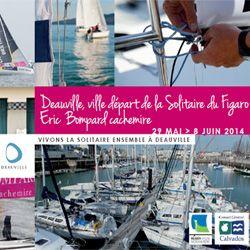 Deauville, ville départ de la Solitaire du Figaro - Eric Bompard cachemire - DEAUVILLE VILLE DÉPART DE LA SOLITAIRE DU FIGARO 2014