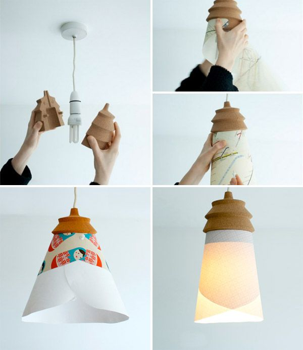 Pin your own design on the pinha lamp awesome the shade for Decorate your own lampshade