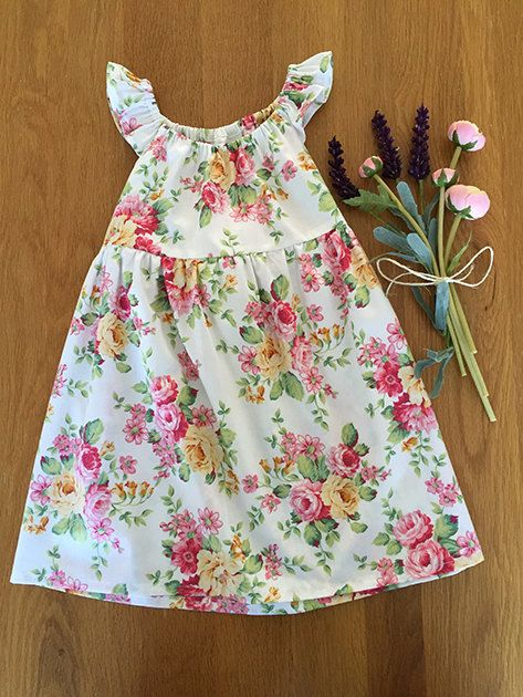 Girls Party Dress Size 2 years by HarryandroseDesigns on Etsy