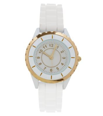 White Mini Sports Watch
