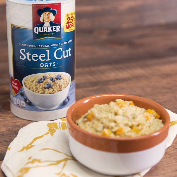 Say 'Hello' to your new Fall favorite. Easy, savory oat risotto made in a crock pot with a mild blend of spices and sweetness from butternut squash makes for a great side dish this #Oatober season.[AD]