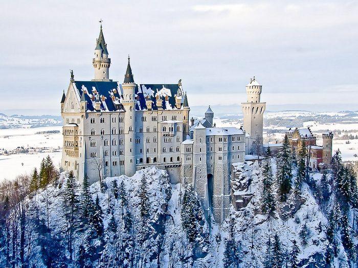самый сказочный замок Германии