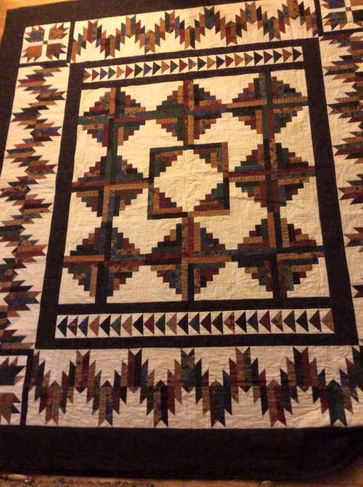 34 best red quilts images on pinterest easy quilts for Indian bear lodge cabins