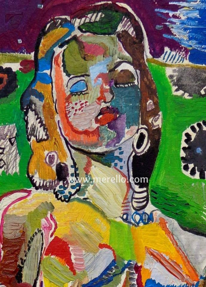 """ÉXTASIS. Jose Manuel Merello.- """"May woman."""" Canvas. Arte contemporáneo. Pintores españoles actuales. Arte actual siglo 21. Pintura moderna. Comprar cuadros de artistas contemporaneos. México, Miami, Madrid. Arte, Lujo e Inversión.Invertir en Arte Moderno. http://www.merello.com"""
