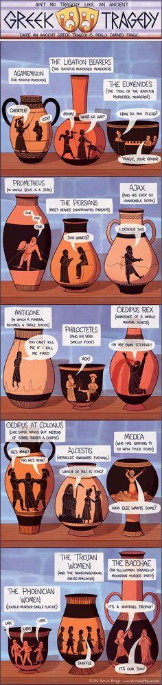 Ain't No Tragedy Like An Ancient Greek Tragedy