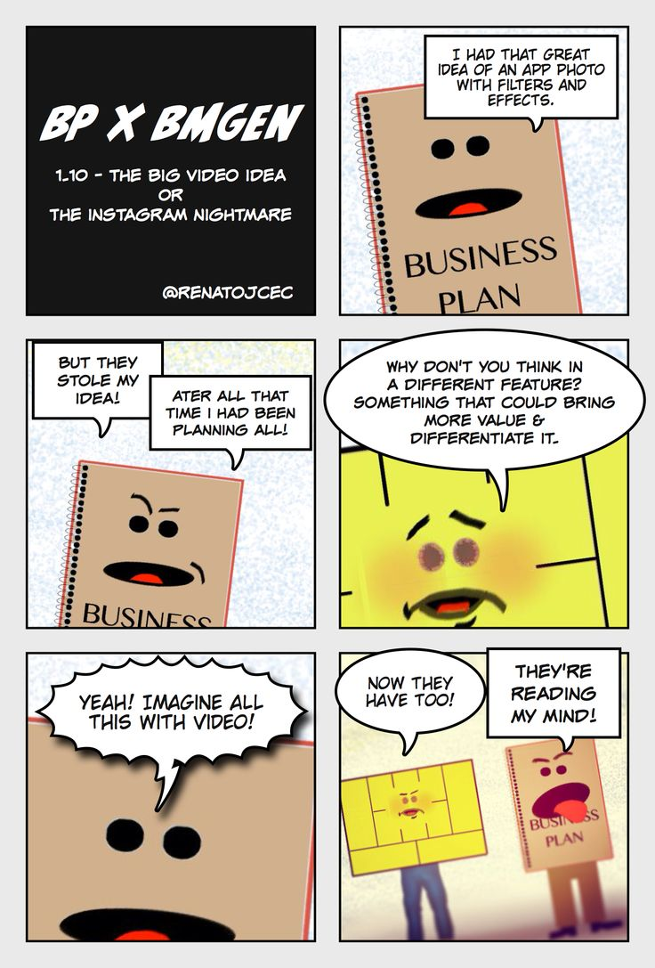 BP vs #bmgen 1.10 - The Big Video Idea - now @ #BMGen Comics http://materiais.bmgenbrasil.com/bmgen-comics-en #custdev #leanstartup