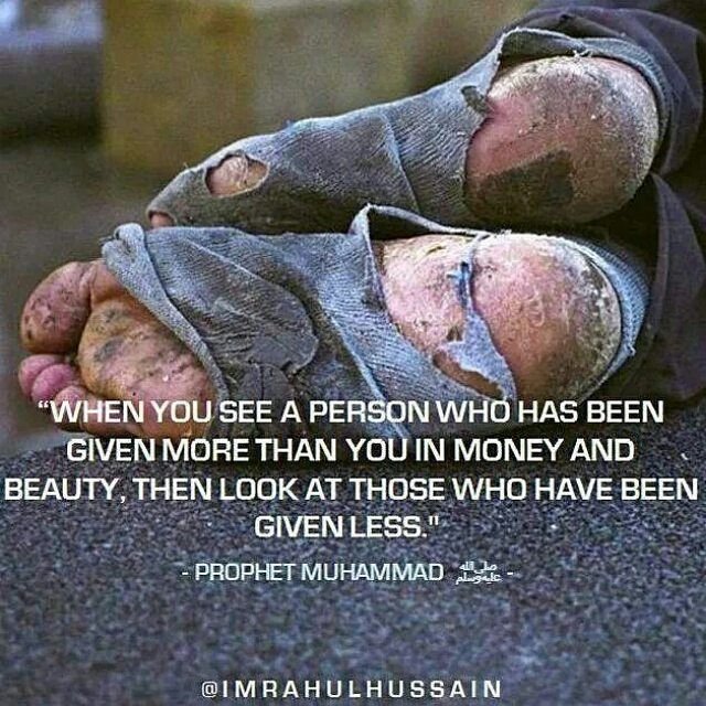Always be grateful.
