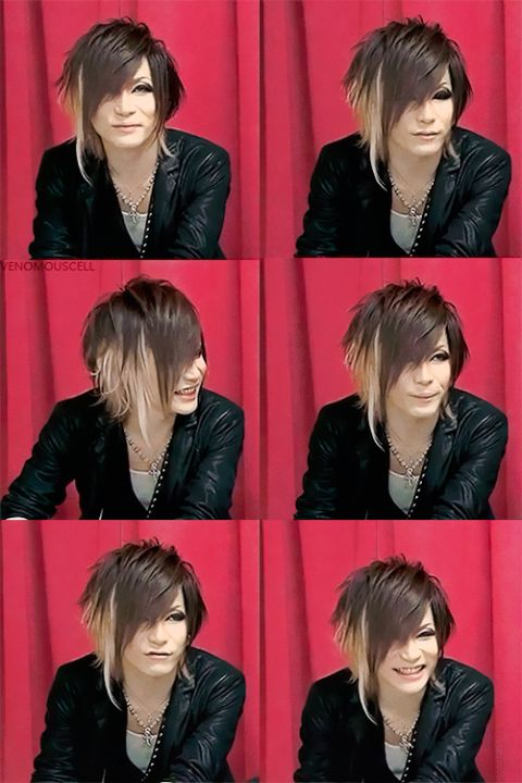 Uruha. The GazettE. Hair goals right there