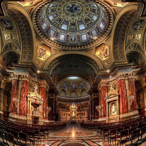 St. Stephen's Basilica, Budapest, Hungary