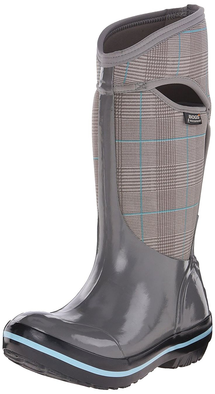 Bogs Women's Plimsoll Prince Of Wales Tall Winter Snow Boot * More info could be found at the image url.