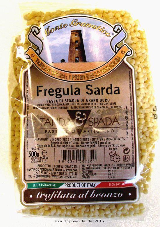 Fregula sarda - sardische Spezialitäten Online Shop www.tiposarda.de