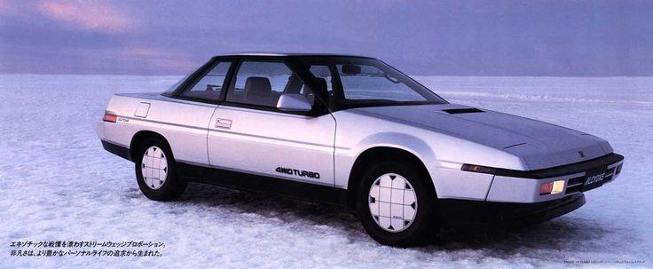 1985 Subaru Alcyone / Subaru XT Cd 0,29