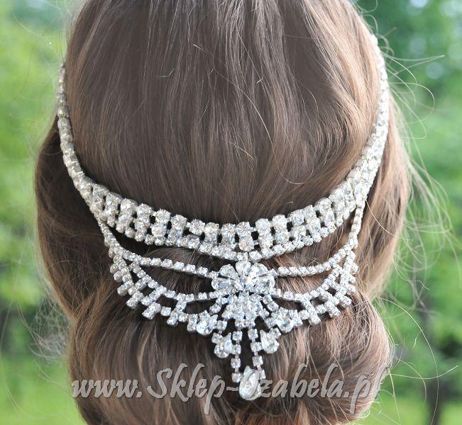 Biżuteria ślubna do włosów, dla Panny Młodej