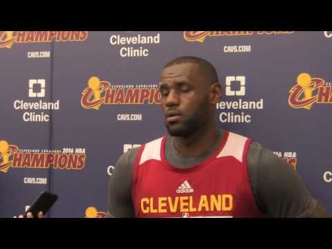 Video: Cleveland Cavaliers F LeBron James - Hillary Clinton endorsement comes down to communities - Cleveland Cavaliers - Ohio