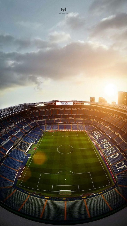El Bernabéu   #MadFBC شاهد المباراة الليلة معنا مجانا على هاتفك ♥ how love this  #stadium #Madrid