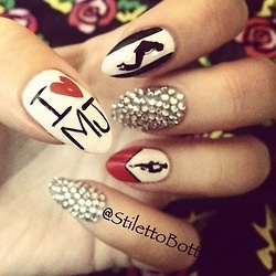 29 best MJ NAIL ART images by Adisyn Prince on Pinterest | Michael ...