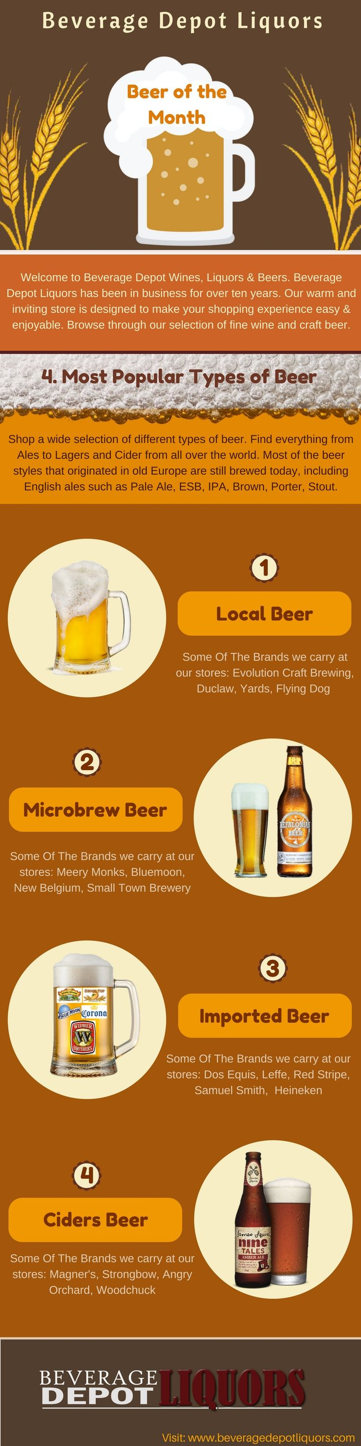 There are a handful of these beer of the month clubs out nearby, each offering their own exclusive options: Call us today for Best Liquor Deal @ (410) 661-7922 to find out more about our offers. https://goo.gl/RDdDJv