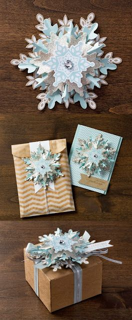 SHARING CREATIVITY and COMPANY: Stampin' Up!'s Festive Flurry Ornament Kit