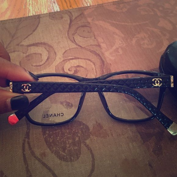 Chanel frames good to put your prescription in Very cute stylish comes with case CHANEL Accessories Belts
