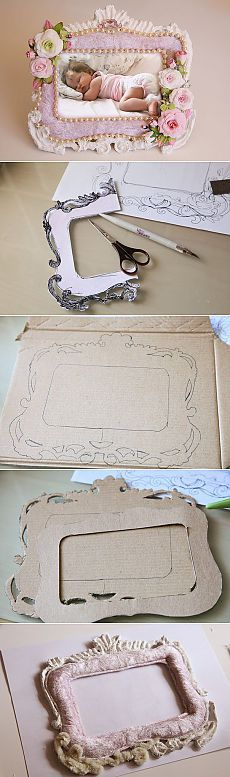 Frame their own hands - Cardboard Design your own hands