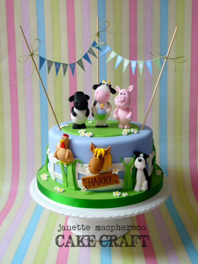 Best 25 Farm cake ideas on Pinterest Farm animal cakes Farm