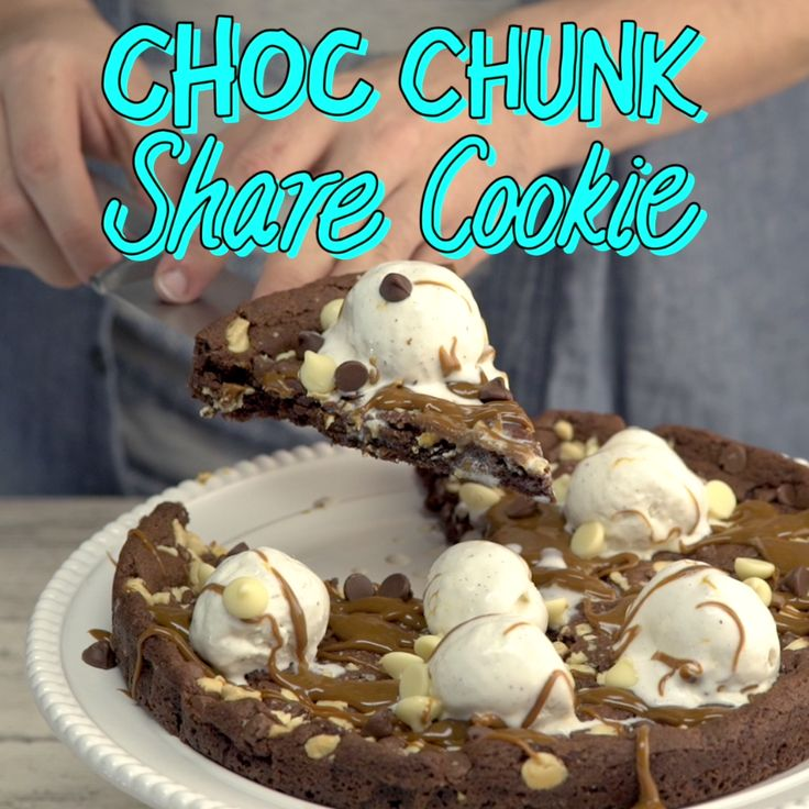 A drizzly, decadent dessert you can easily share ... or not!