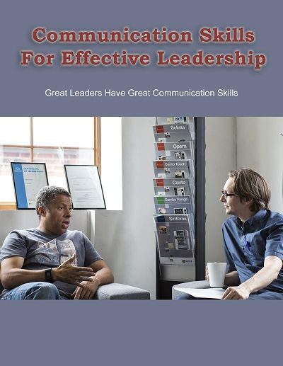 Good communication skills are crucial in a leader if they are to remain a leader. A leader can be define as someone who plays a prominent role in a business