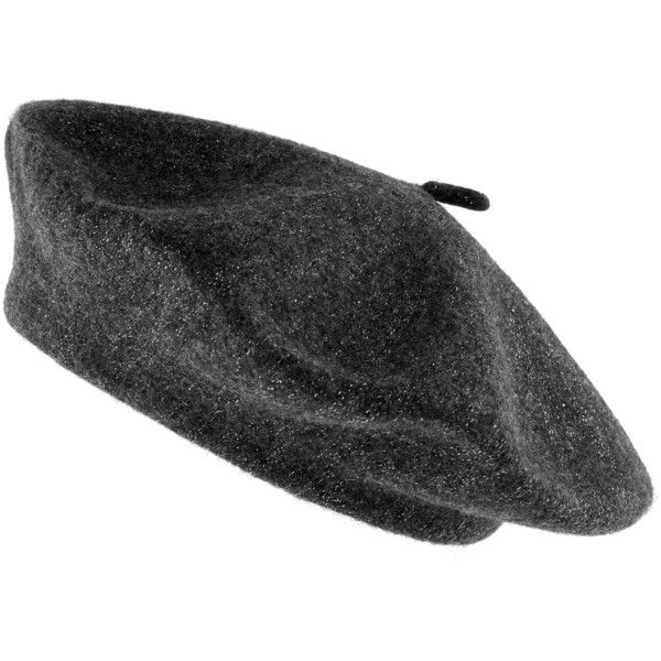 Accessorize Metallic Wool Beret (7.545 HUF) ❤ liked on Polyvore featuring accessories, hats, wool berets, beret hats, metallic hat, cold weather hats and wool hat