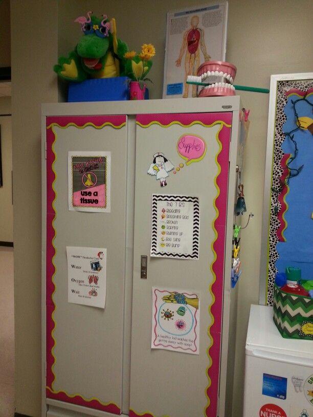 School nurses office ideas