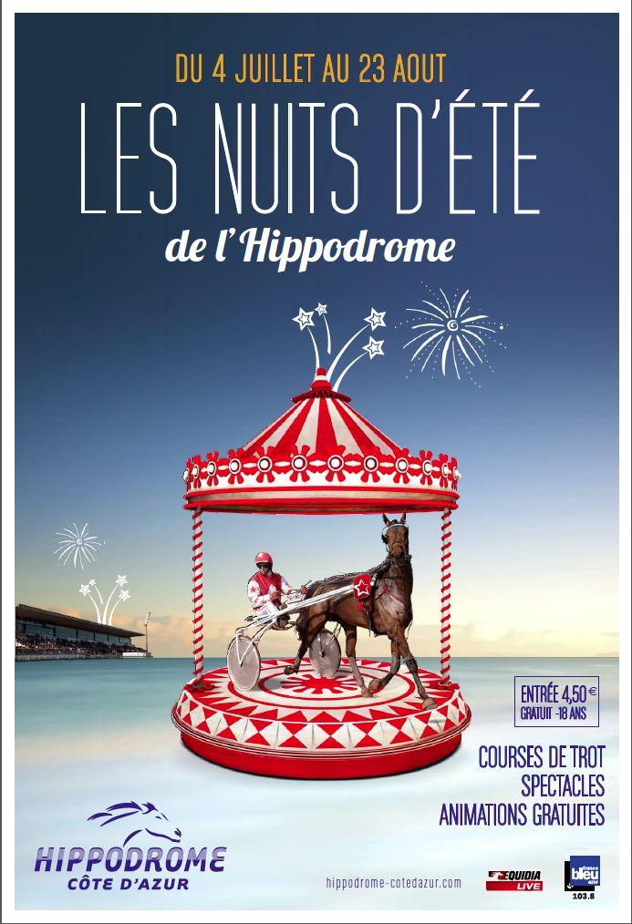 Affiche de l'Hippodrome, Cagnes Sur Mer