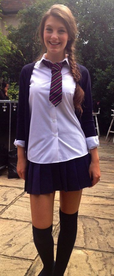 Excellent Amature wives school uniform happens. can