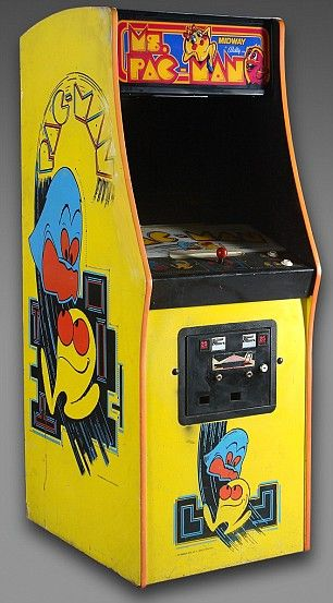 ms pac man, I spent so many lunch times playing this game. (I worked at Montgomery Wards Catalogue)