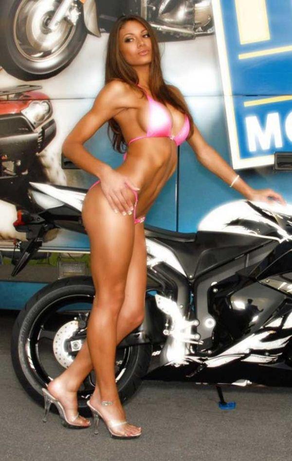Janet Layug Sexy Bikes Pinterest