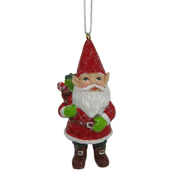 "Kmart Jaclyn Smith Santa Gnome 2.75"" X"