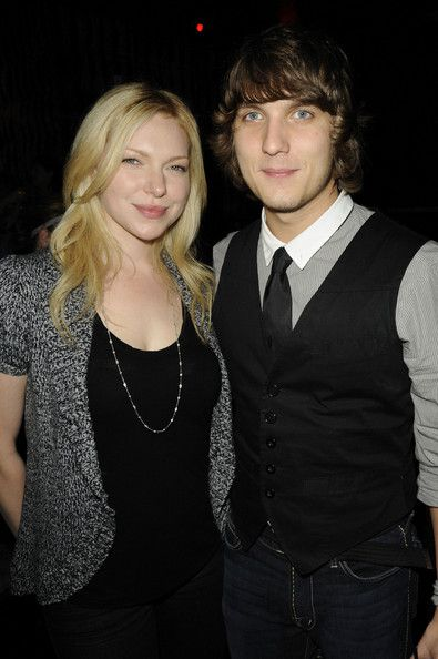 American actress, Laura Prepon with ex-boyfriend Scott Michael Foster...