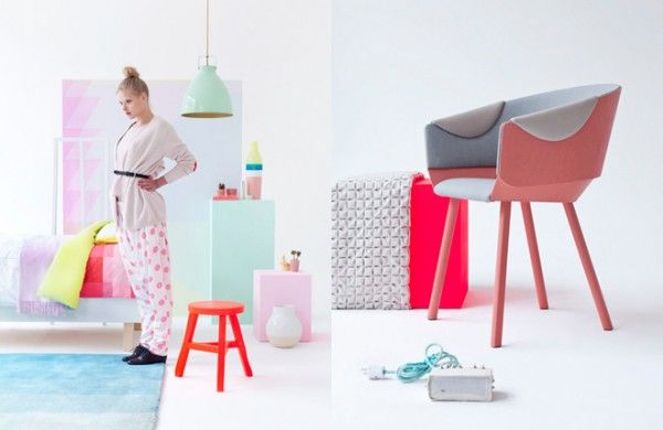 Fluorescent Meets Pastel .  Dreamy.