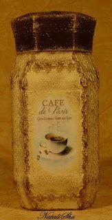 "Handmade from NataliSha: Баночка для кофе под ""Прованс"""