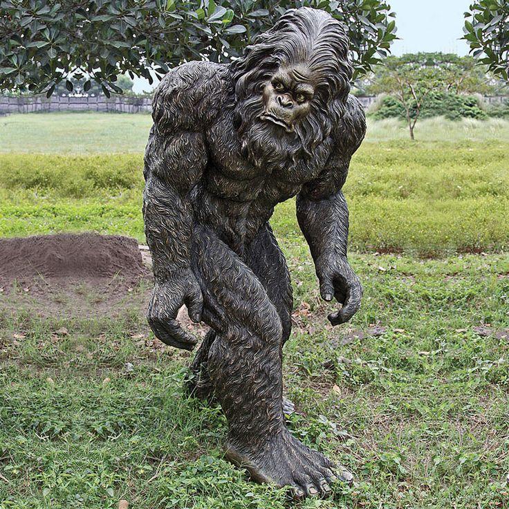 Image result for living statue bigfoot
