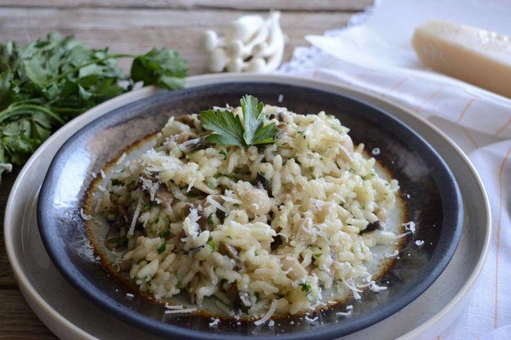 Ριζότο με μανιτάρια — Paxxi