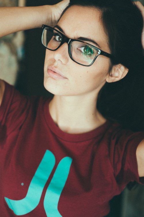 Glasses sexy teen — pic 6