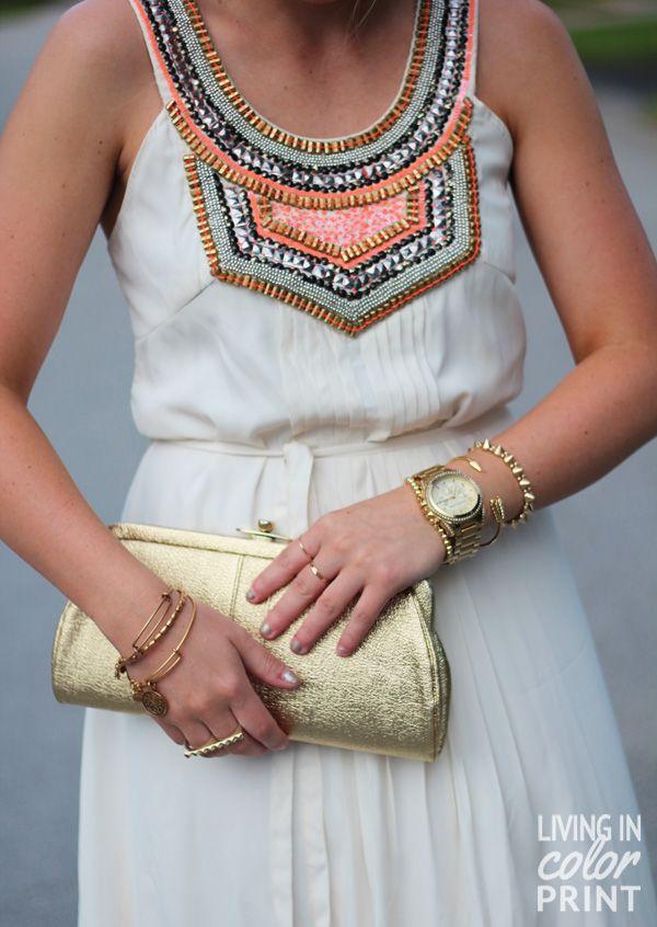 tribal dress.