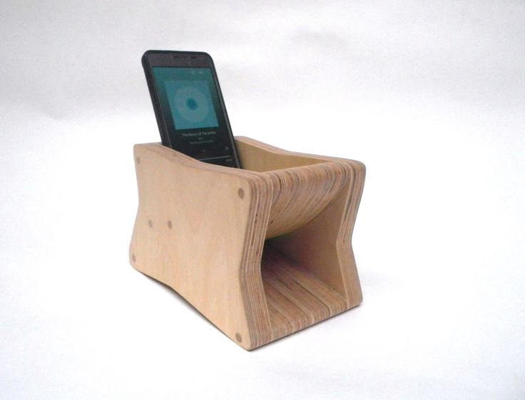 The Brick - Passive Mobile Phone Amplifier - Horn Loaded by CraftyandCoUK on Etsy