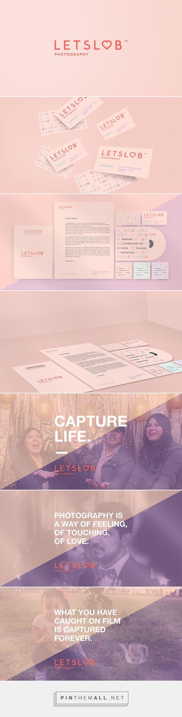 L E T S L O B Photography Branding by Raquel Gonzalez | Fivestar Branding – Design and Branding Agency & Inspiration Gallery | #BrandingInspiration