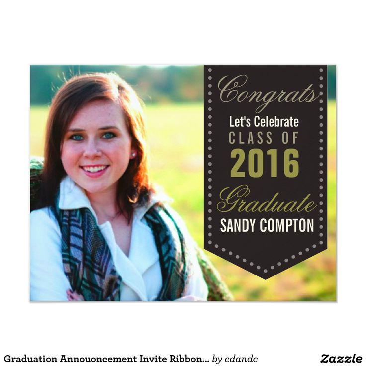 198 best images about Customizable Graduation Announcements on