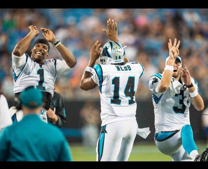 Carolina Panthers Joe Webb ELITE Jerseys