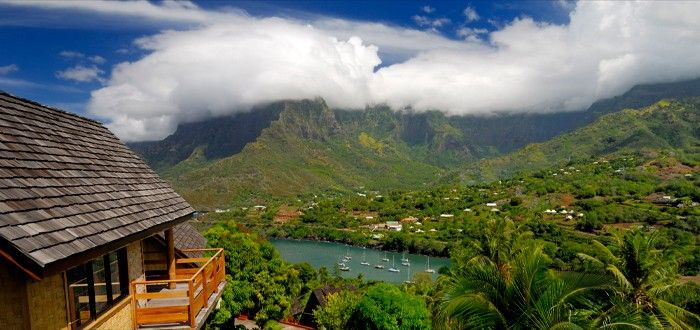 View from the Hanake Pearl Hiva Oa