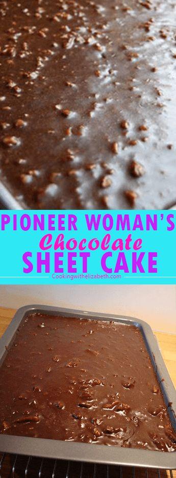 Schokoladenblechkuchen der Pionierin   – Cakes/Frostings