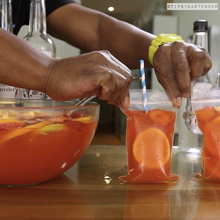 Tipsy Bartender — JUNGLE JUICE TO GO  4 oz. (120ml) Vodka  4 oz....