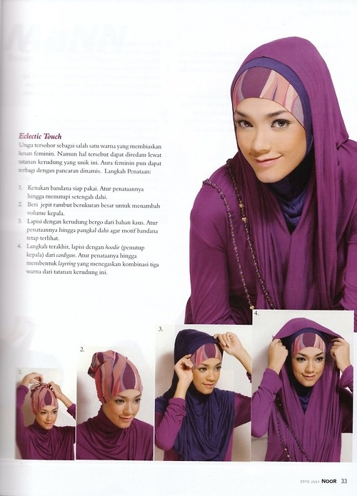 Eclectic Touch Style Hijab | Hijab Secure
